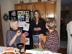 2005 Oct Sharons Yoga Party 012